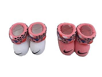 Nike Futura Unisex para bebé Patucos, Unisex bebé, NIK017, Blanco/Azul,