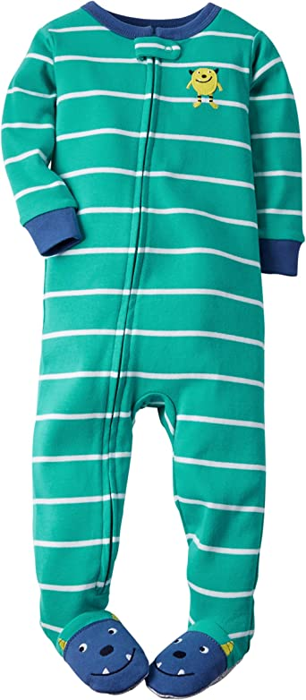 Carters Baby Boys Striped Footie
