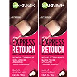 Garnier Hair Color Express retouch gray hair concealer, instant gray coverage, Brown, 0.68 Fluid Ounce