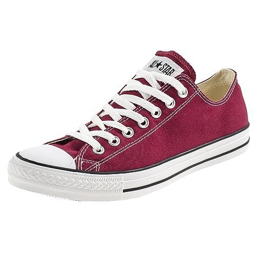 Converse All Star Canvas Ox Zapatillas para hombre, color púrpura, talla EUR 39 12