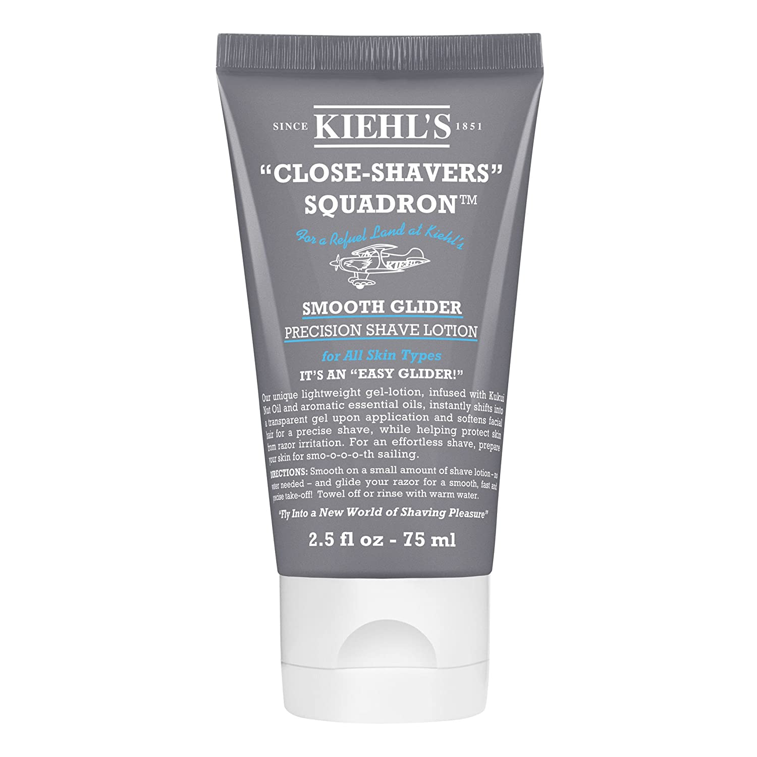 Kiehl's Smooth Glider Precision Shave Lotion 2.5oz (75ml) Kiehl' s