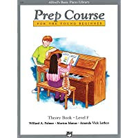 Alfred's Basic Piano Prep Course Theory, Bk F: For the Young Beginner