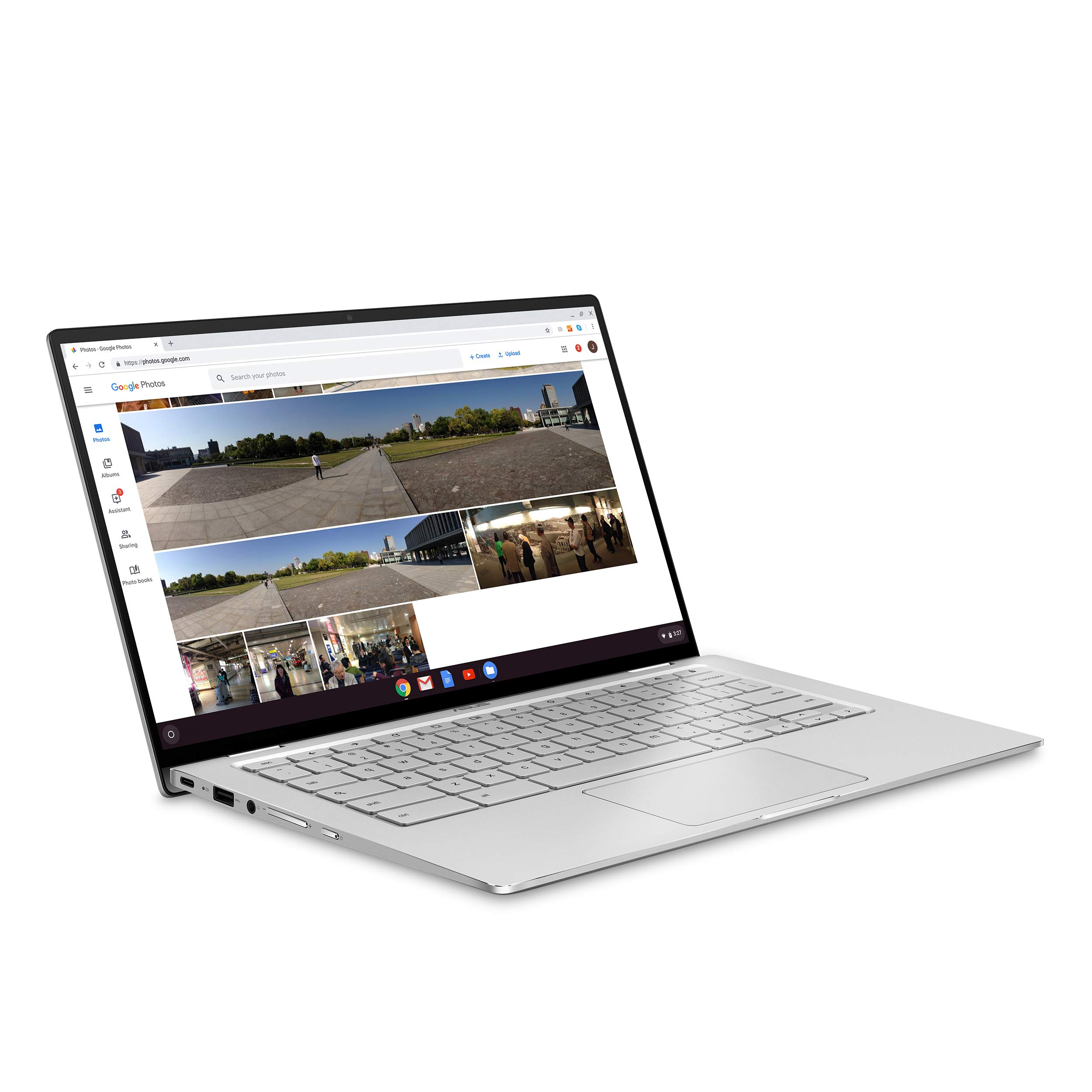 ASUS Chromebook Flip C434TA-DSM4T 2-in-1 Laptop 14'' Touchscreen Full HD 4-Way NanoEdge, Intel Core M3-8100Y Processor, 4GB RAM, 64GB eMMC Storage, Chrome OS by ASUS (Image #4)