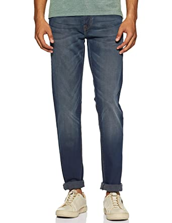 Pepe Jeans Men's (Hatch) Regular Fit Tapered Leg Jeans Men's Jeans at amazon