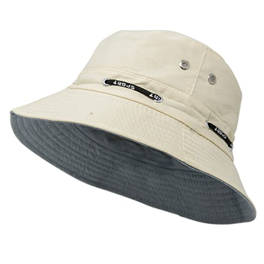 Summer Bucket Hat - Short Brim Cotton Boonie Hat for Hiking 76da04421b4