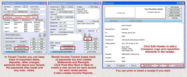 amazoncom rental property tracker plus download software