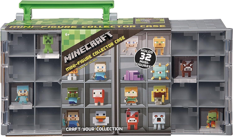 Minecraft - Caja de colección (Mattel DFN48): Amazon.es: Juguetes y juegos