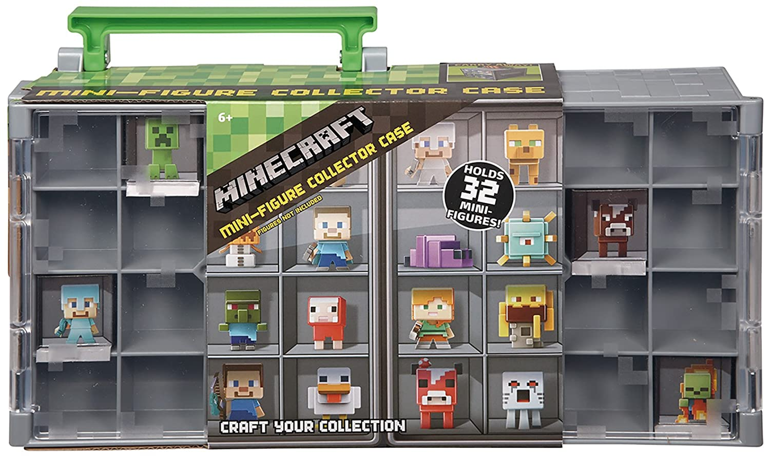 Mattel Minecraft Mini Figure Collector Case DFN48 Cases