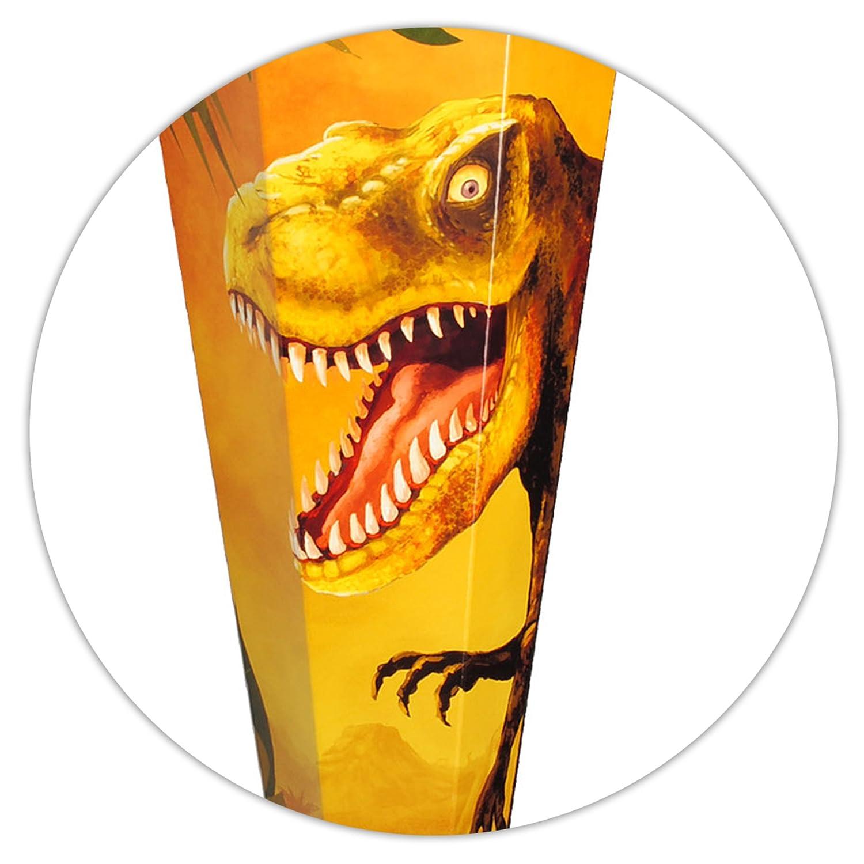 Alles-meine Alles-meine Alles-meine  GmbH 10 Stück _ Schultüten -  Dinosaurier - Tyrannosaurus Rex  - 35 cm - rund - incl. individueller Schleife - mit Namen - mit Filzabschluß - Zuckertüte - mit   .. B07DW3WD18 | Adoptieren  | Professionelles Design  | Sc 963ed4