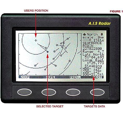 Matsutec HP-528a 4.3 Inch Color LCD Clase B AIS Transpondedor ...