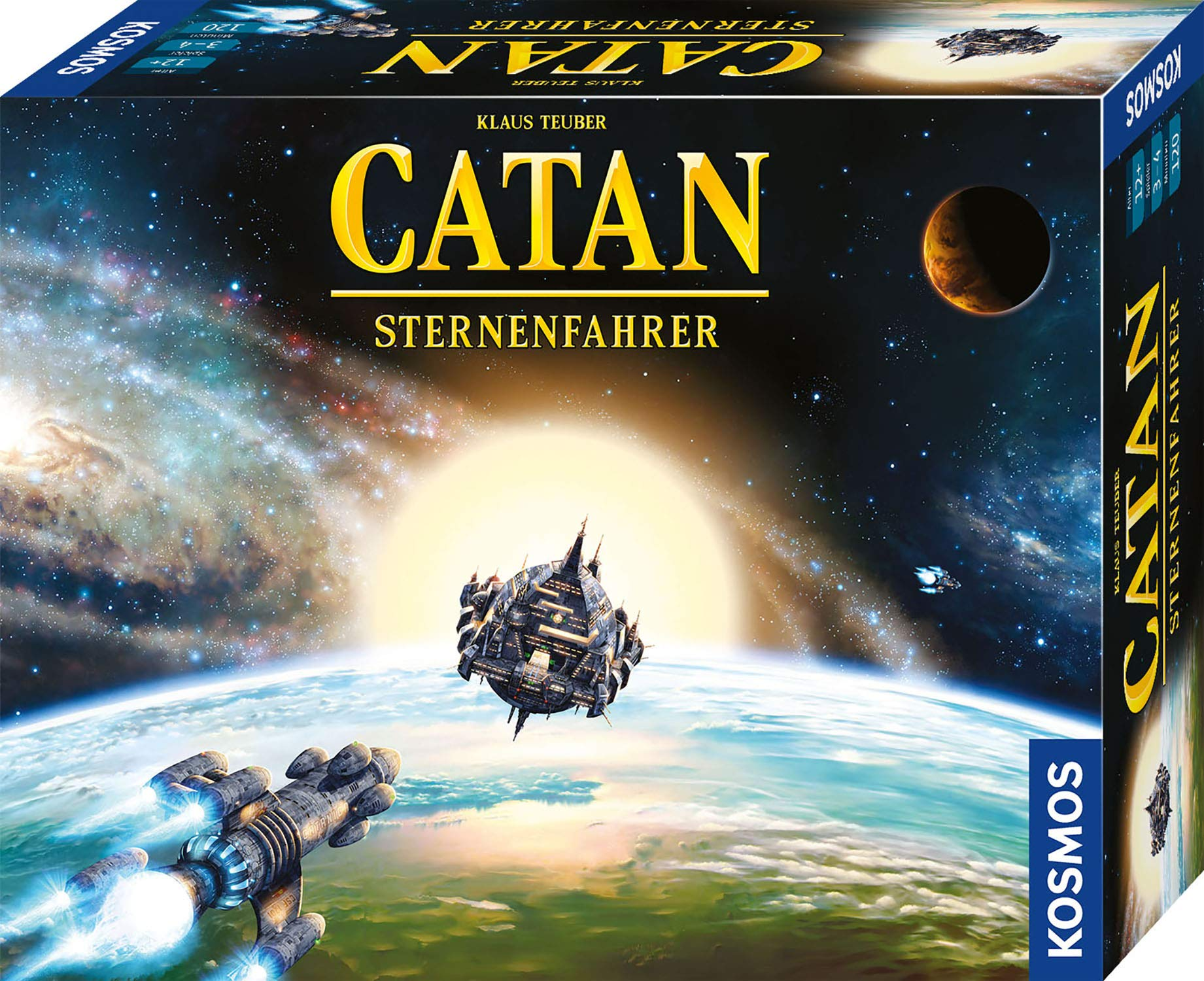 Catan Sternenfahrer: 3 - 4 Spieler: Amazon.es: Libros en idiomas extranjeros