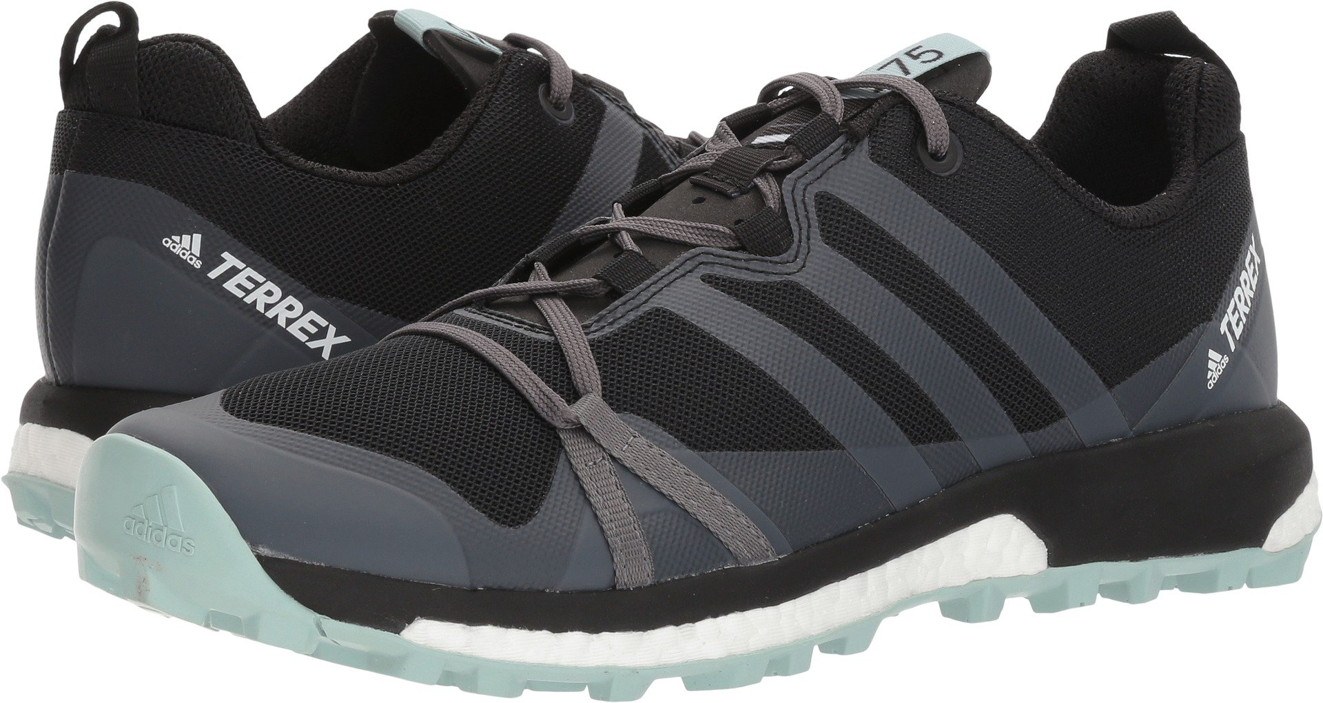 adidas Sport Performance Women's Terrex Agravic W Sneakers, Black, 10 M
