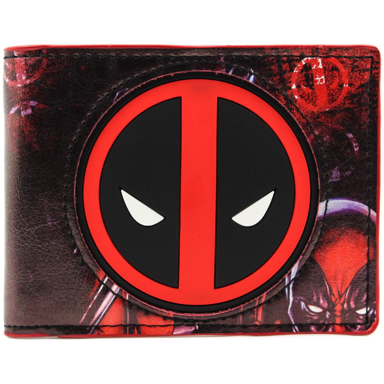 Marvel Deadpool Animated Anti Hero Multicolore Portefeuille 27833