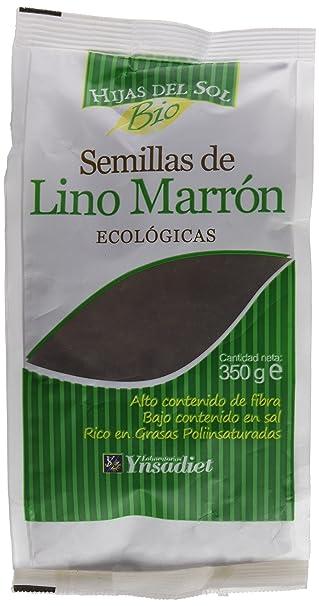Hijas Del Sol Bio Semillas De Lino Marrón - 350 gr - [pack de 10