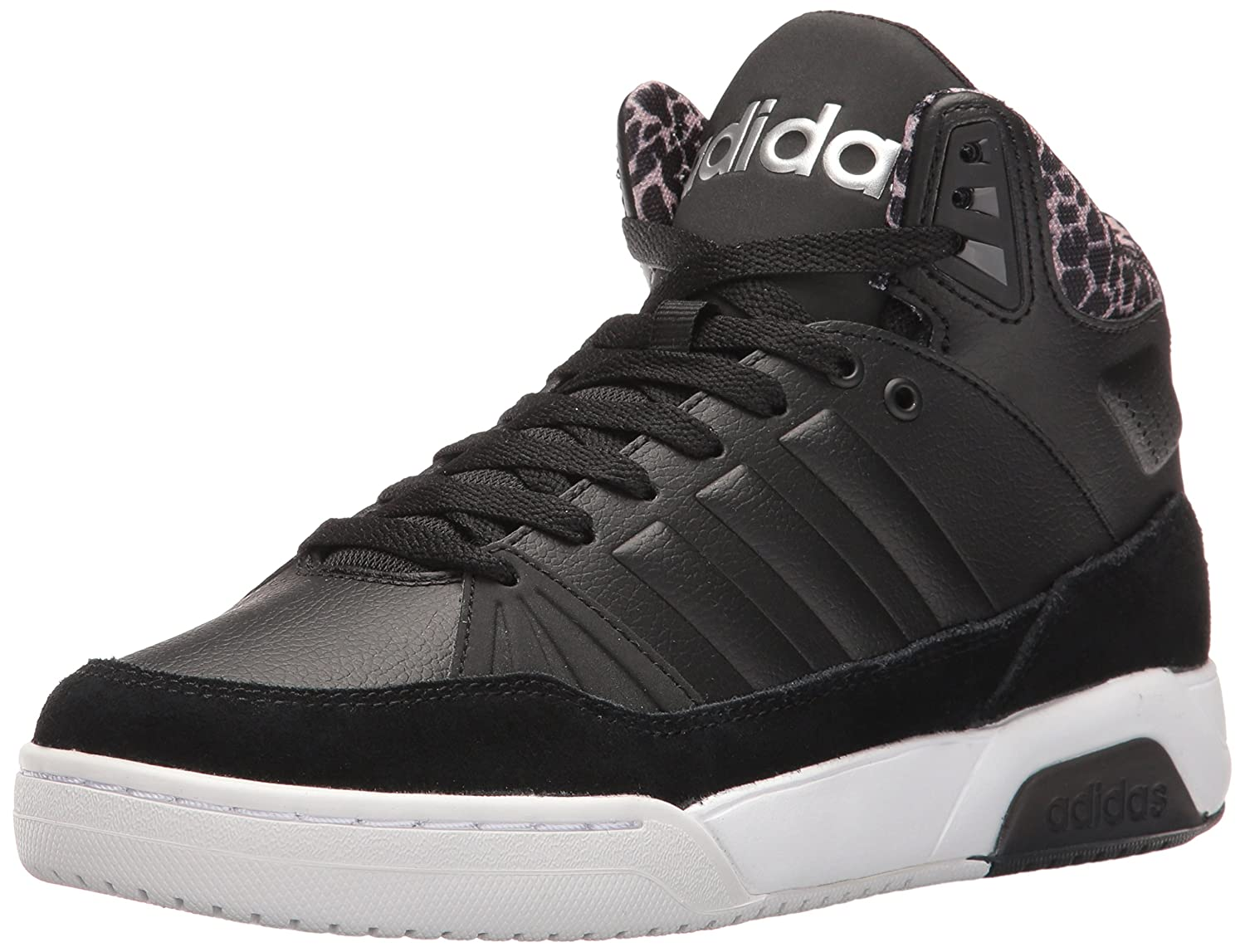 adidas Women's Play9tis Fashion Sneakers B01HSIQT9M 8 M US|Black/Black/Matte Silver
