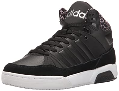 adidas Women's Shoes | PLAY9TIS Fashion Sneakers, Black/Black/Matte Silver,  (