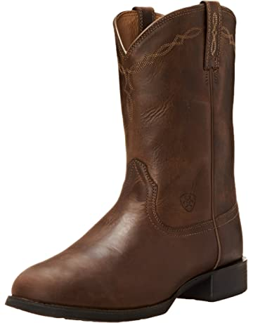 1b1534318 Ariat Men s Heritage Roper Western Cowboy Boot