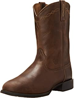 Amazon.com | Ariat Men's Heritage Horseman Western Cowboy Boot ...
