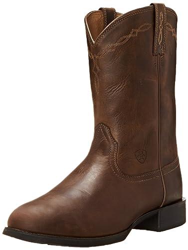 6a5653019 Ariat Men s Roper Western Cowboy Boot  Amazon.co.uk  Shoes   Bags