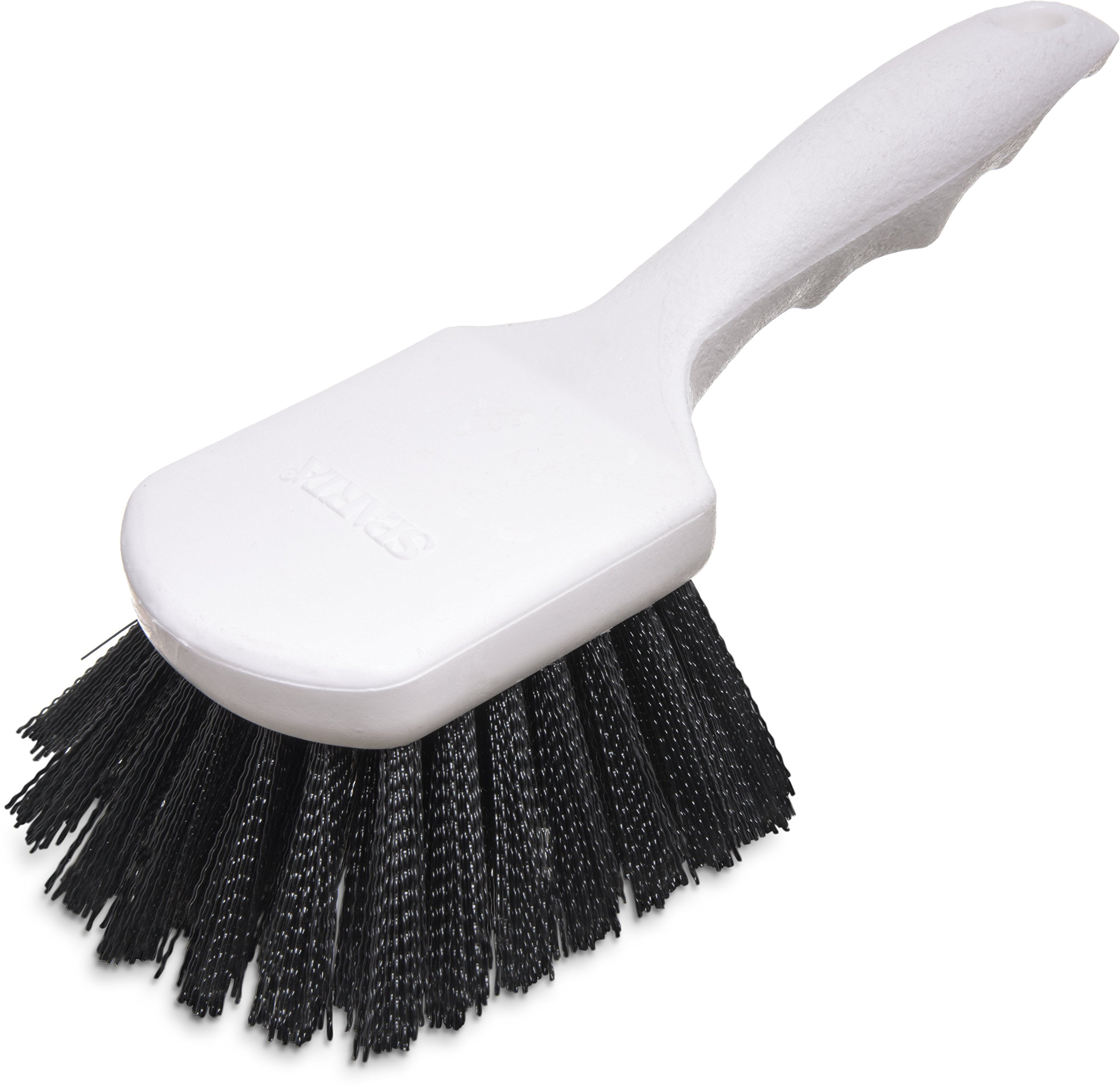 Carlisle 4054103 Sparta Utility Scrub Brush, 8'' x 3'', Black (Pack of 12)