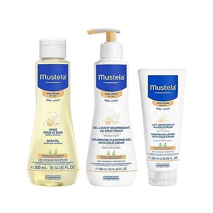 Amazon.com: Mustela - Set de regalo para el baño, cuidado de ...