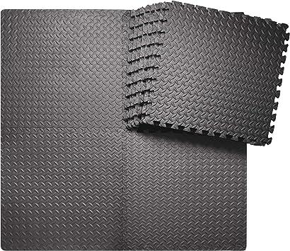 sq ft Puzzle Gym Soft Eva Foam Floor Interlocking Mat Tiles Exercise Mats Yoga