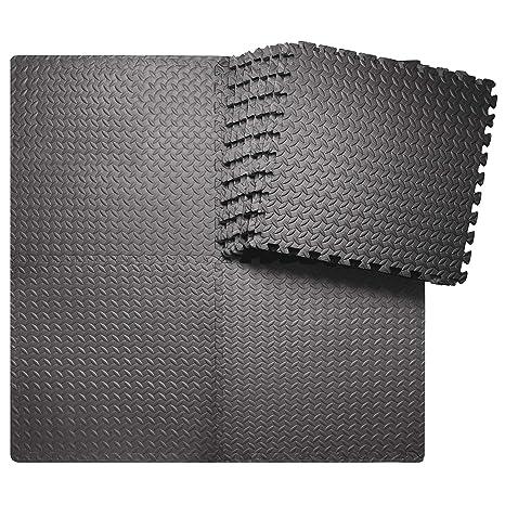 56f6776c233d6 innhom 12/24 Tiles Gym Mat Puzzle Exercise Mats Gym Flooring Mat  Interlocking Foam Mats with EVA Foam Floor Tiles for Gym Equipment  Workouts, ...