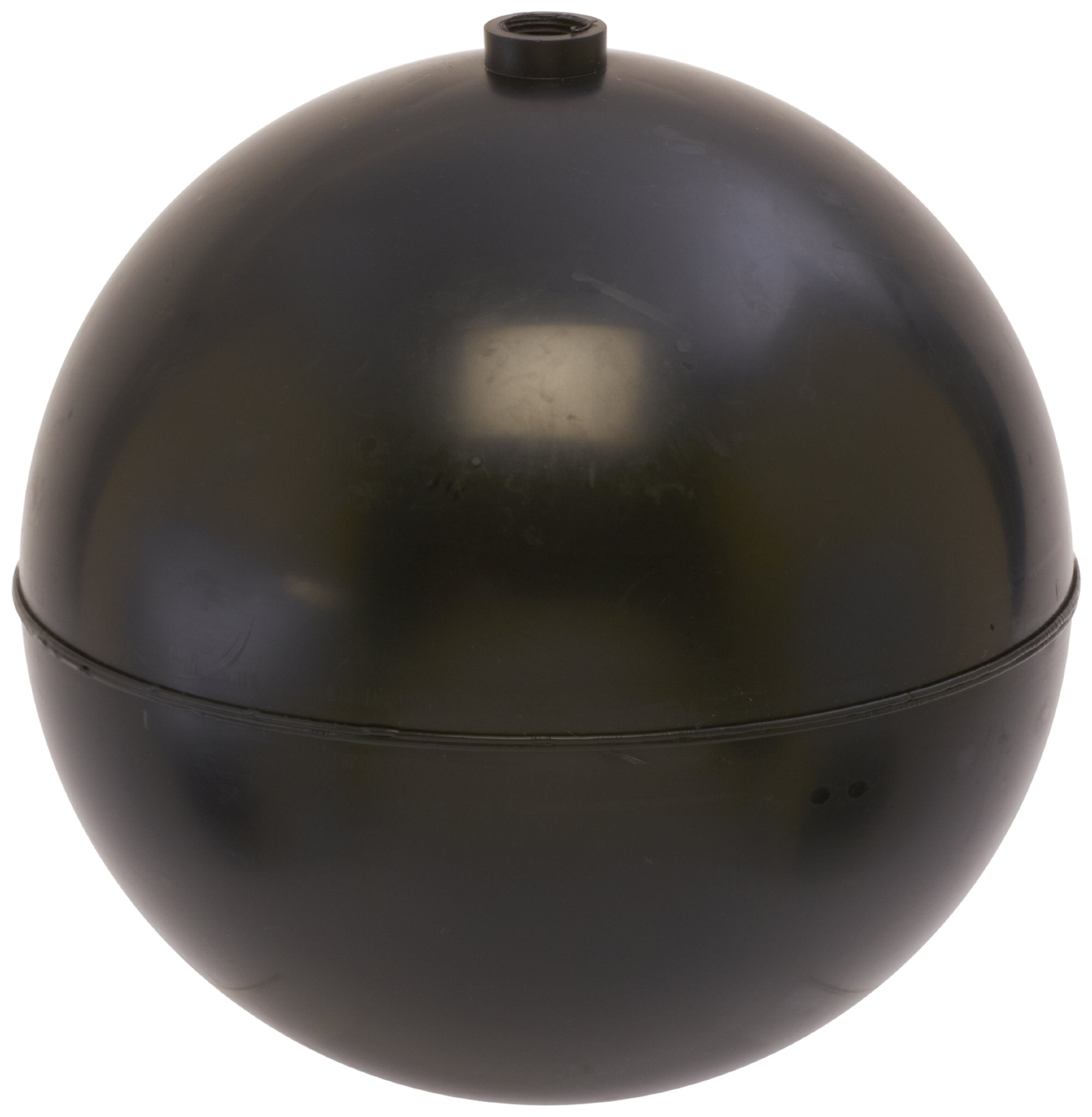 Robert Manufacturing PF Series Bob Spherical Polypropylene Float, 3/8''-16 Female Spud, 8'' Diameter, 158 oz Buoyancy