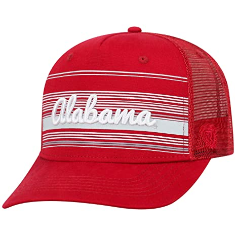 brand new a9c88 4d1dc Image Unavailable. Image not available for. Color  Top of the World Alabama  Crimson Tide Official NCAA Adjustable 2Iron Trucker Mesh Hat Cap 388830