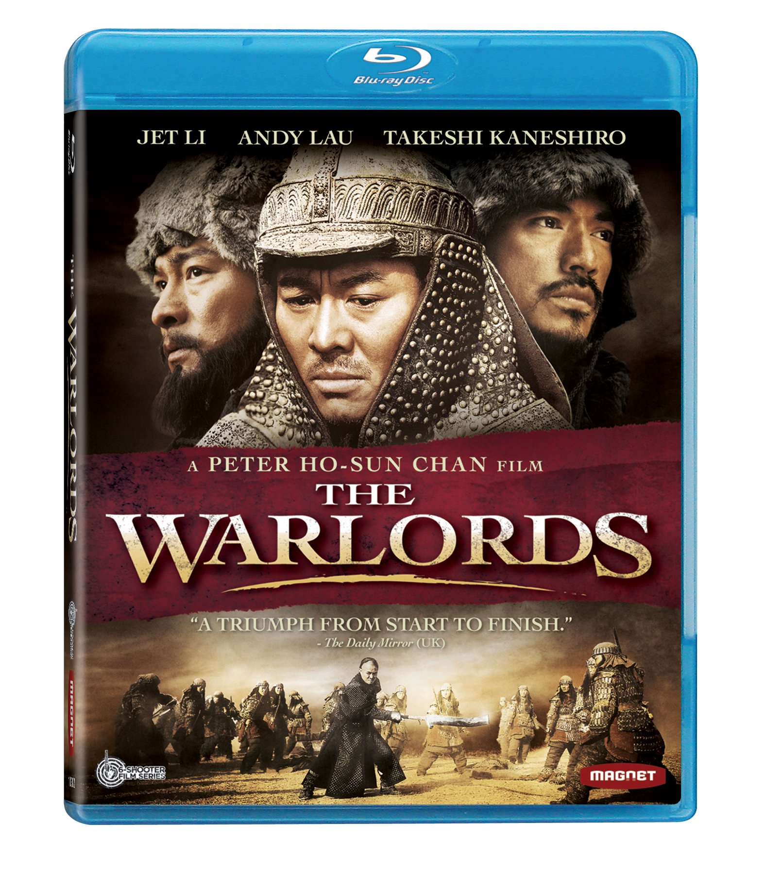 Blu-ray : The Warlords (Dolby, AC-3, , Dubbed, Widescreen)