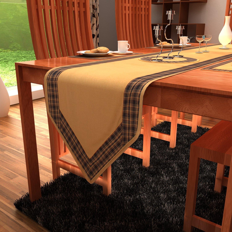 ホームハート国ファッションDuck綿テーブルランナー 13