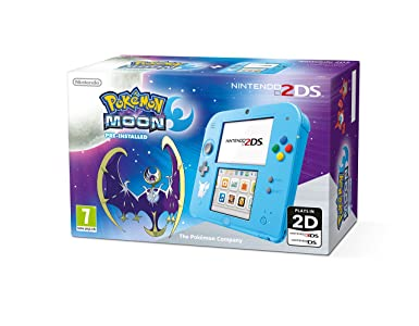 Nintendo Handheld Console 2DS with Pokemon Moon: Amazon co