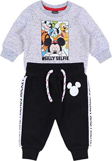 Conjunto: Pantalones + Sudadera Mickey Mouse Disney: Amazon ...