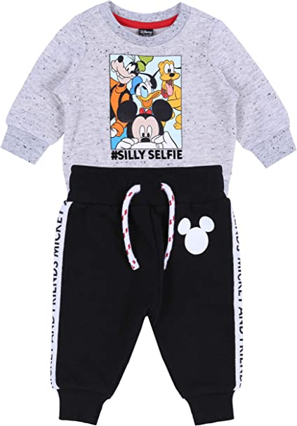 Conjunto: Pantalones + Sudadera Mickey Mouse Disney: Amazon.es ...