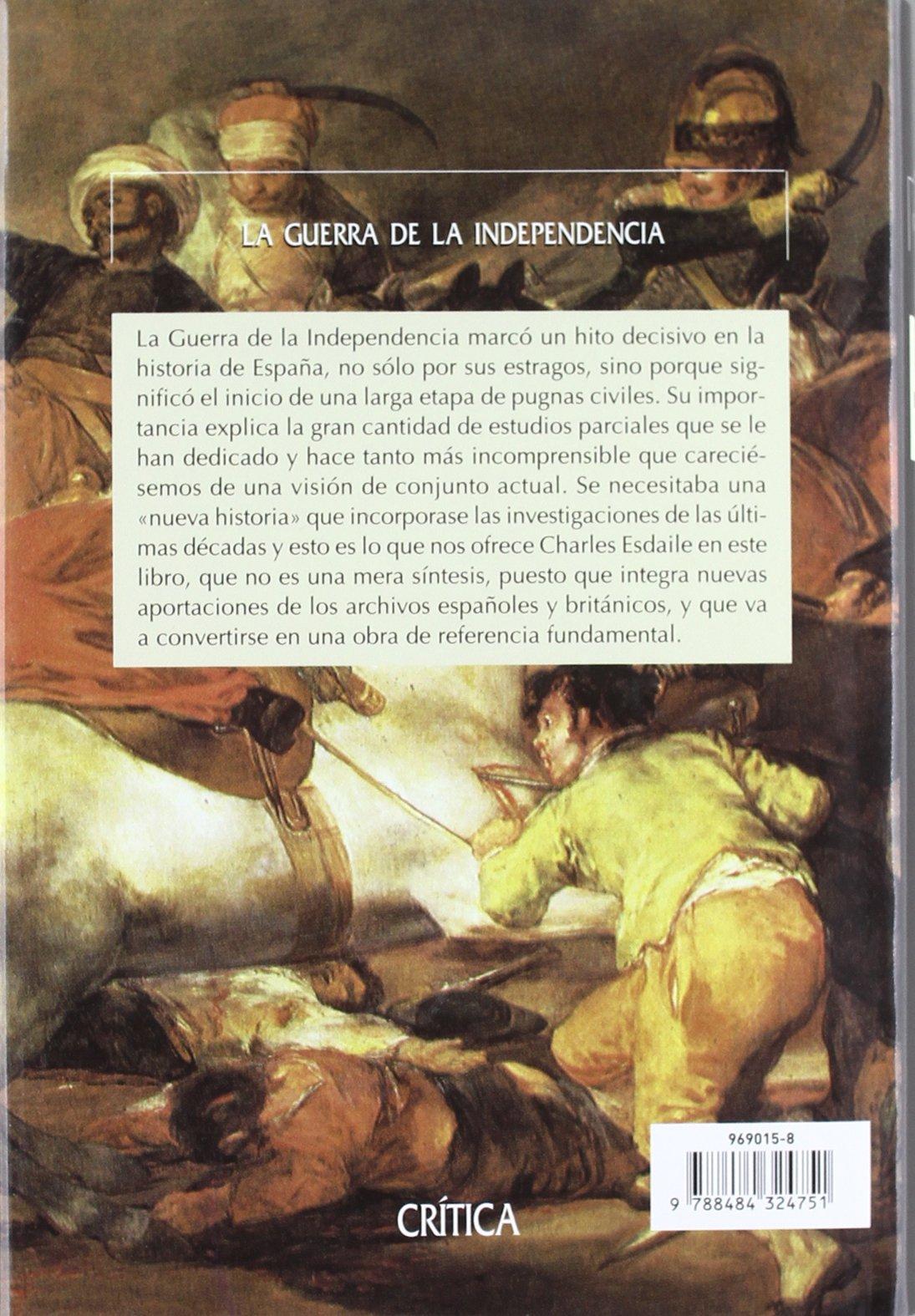 La guerra de la independencia: Una nueva historia Serie Mayor ...