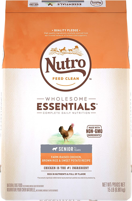 NUTRO WHOLESOME ESSENTIALS Senior Dry Dog Food