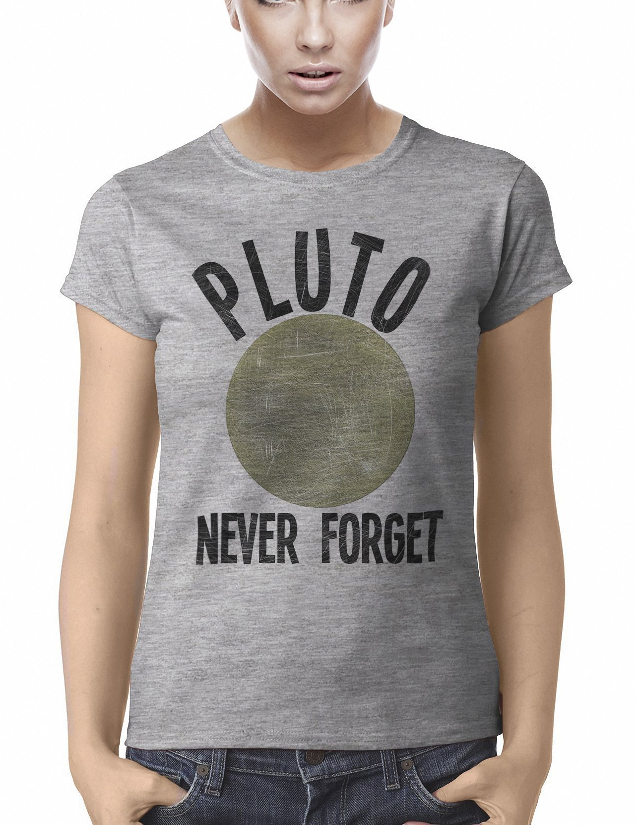 Pluto Never Forget Funny T Shirt 9984