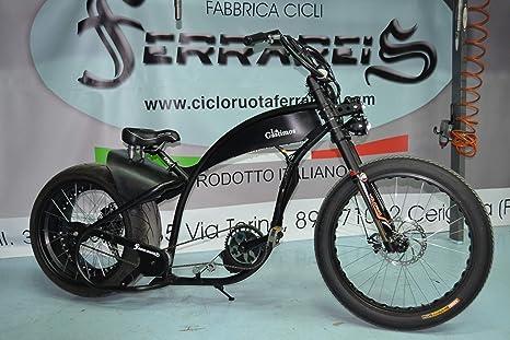 Cicli Ferrareis Fat Bike Fahrrad Harley Davidson Replica Chopper