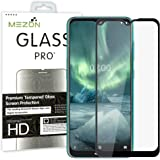 [2 Pack] MEZON Full Coverage Tempered Glass for Nokia 5.3 - Crystal Clear Premium 3D Edge 9H HD Screen Protector (Nokia…