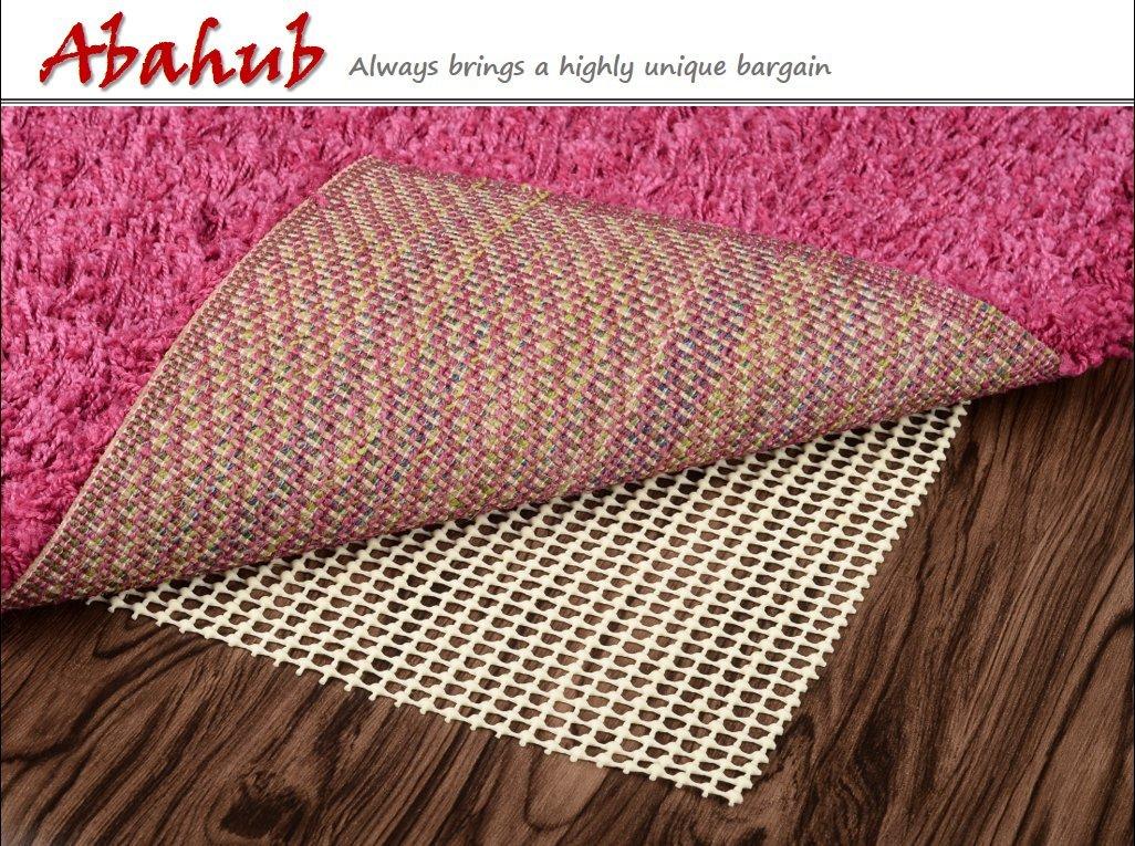 Abahub Anti Slip Rug Pad 8' x 10' for Under Area Rugs Carpets Runners Doormats on Wood Hardwood Floors, Non Slip, Washable Padding Grips by ABAHUB (Image #6)