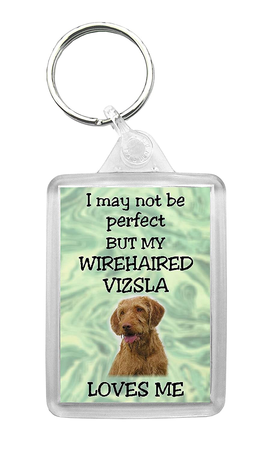 """Hungarian Wirehaired Vizsla Fridge Magnet /""""I may not be perfect ../"""" by Starprint"""