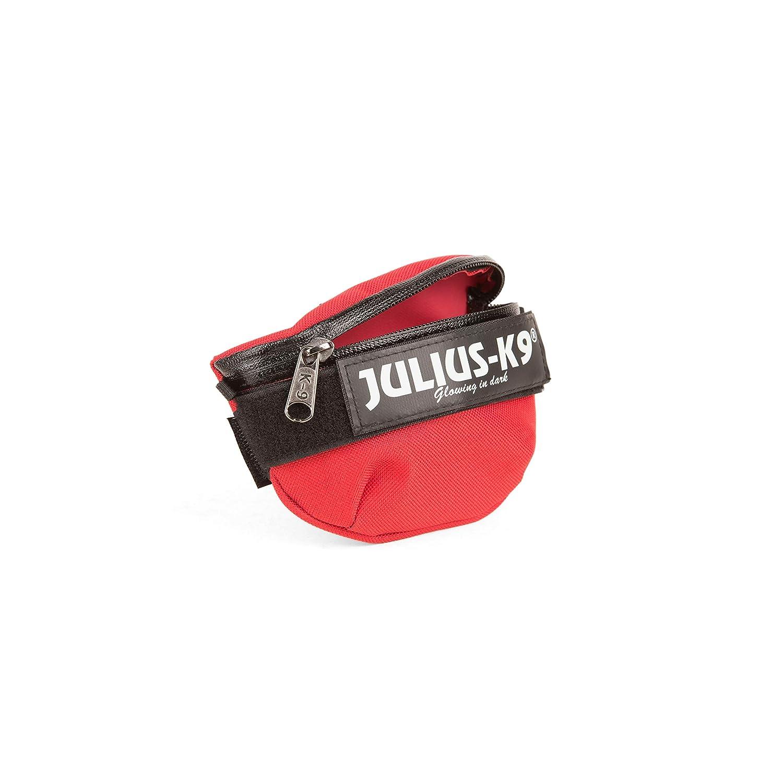 Julius-K9 1621IDC-R-G Borse Laterali Universali IDC 1 Paio Rosso