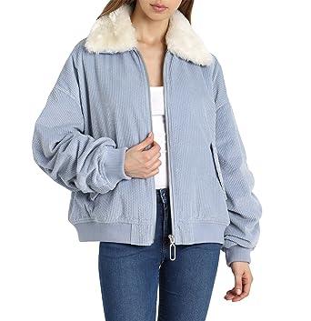 a8f98b867b3 Avec Les Filles Women s Corduroy Bomber Jacket with Sherpa Trim at Amazon  Women s Coats Shop