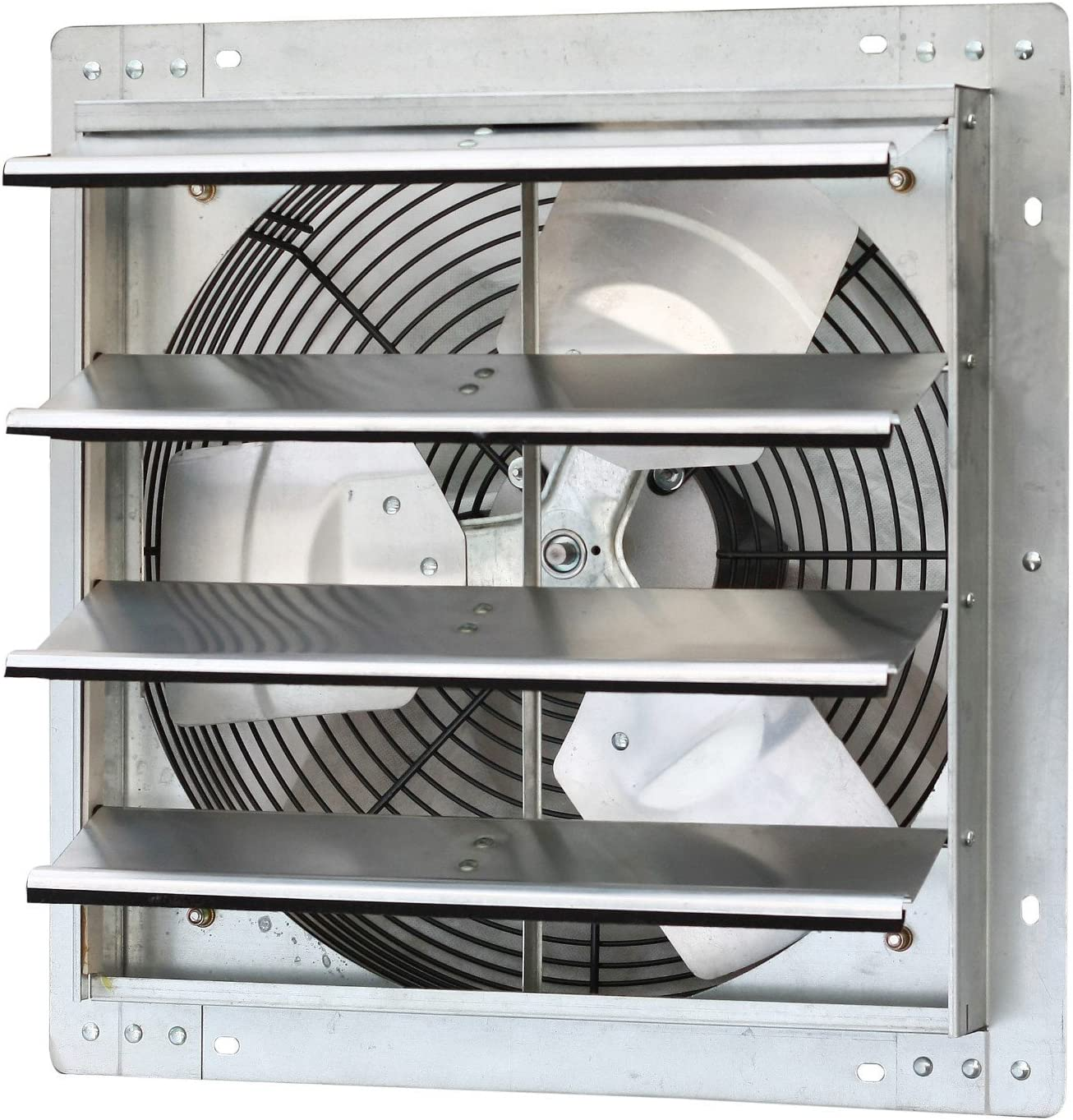 iLiving – 16 Wall Mounted Exhaust Fan – Automatic Shutter – Variable Speed – Vent Fan For Home Attic, Shed, or Garage Ventilation, 1200 CFM, 1800 SQF Coverage Area