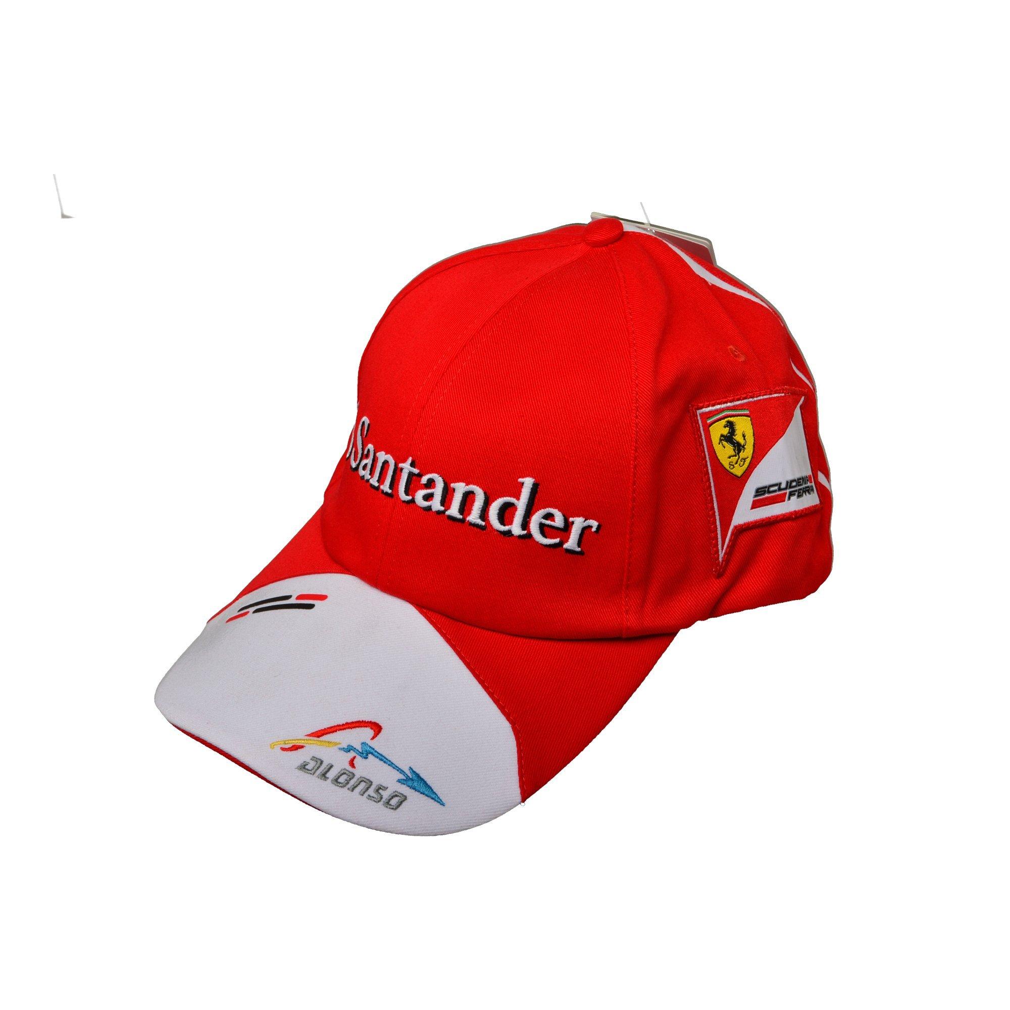 ccc0e9accf8 Rosso Corsa Scuderia Ferrari F1 Alonso Santander Puma 2013 Cap Apparel