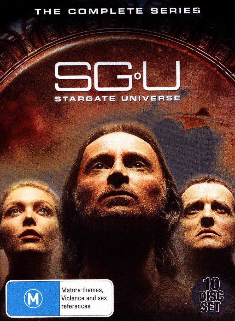 SG U Stargate Universe Complete TV Series | 10 Discs | NON-USA Format | PAL | Region 4 Import - Australia