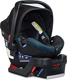 product image for Britax B-Safe Ultra Infant Car Seat - Rear Facing | 4 to 35 Pounds - Reclinable Base, 2 Layer Impact Protection | Cool Flow Ventilated Fabric, Cool Flow Teal