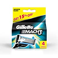 Gillette Mach-3 Cartridge - Pack of 4