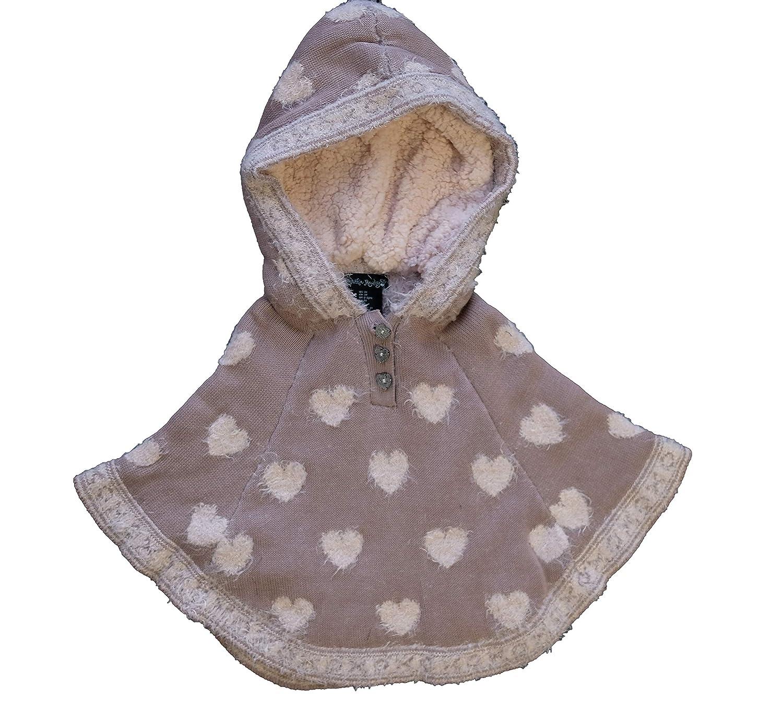 Amazon com: Cynthia Rowley 2Pc Toddler Girls Hooded Poncho Pant Set