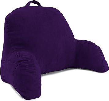 Amazon.com: Microsuede almohada reposa espalda para cama ...